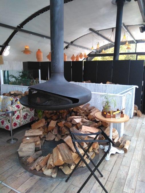 Le poêle de chez Polpo Brasserie